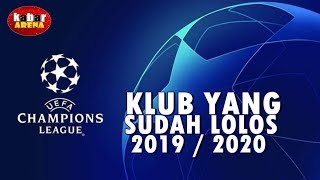 Download Video Daftar Klub Yang Lolos Ke Babak Grup Liga Champions Eropa 2019/2020 MP3 3GP MP4