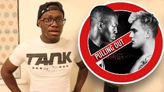 DEJI IS PULLING OUT OF THE KSI VS LOGAN PAUL BOXING MATCH?