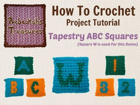 Tapestry crochet abc square tutorial youtube tapestry crochet abc square tutorial ccuart Image collections