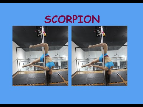 Scorpion - Tutoriais de Pole Dance por Alessandra Rancan