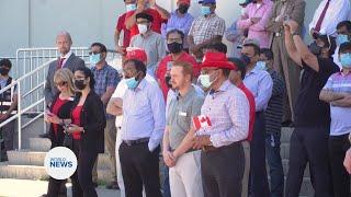 Ahmadi Muslims took part in Canada Day Celebrations