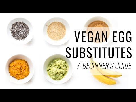 HOW TO MAKE VEGAN EGG SUBSTITUTES | a beginner's guide to vegan baking