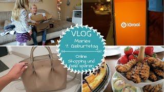 Maries 7. Geburtstag |Online Shopping Spartipp |VLOG |Kathis Daily Life