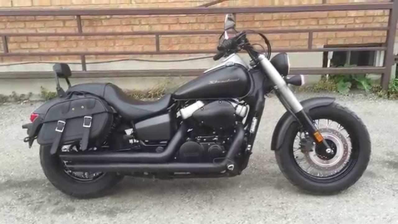 2013 Honda Shadow Phantom 750 Cobra Exhaust Youtube