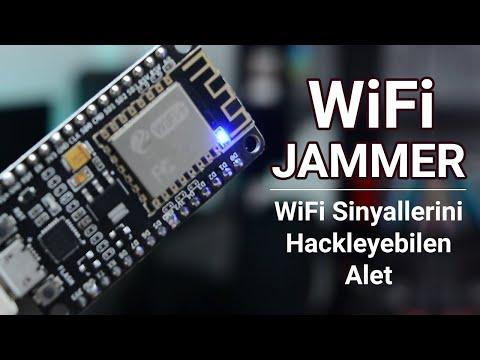 Etrafınızdaki WiFi Sinyallerini