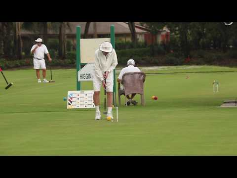 Croquet:US Rules-2017 Seniors/Masters:Gibbons v Blamire