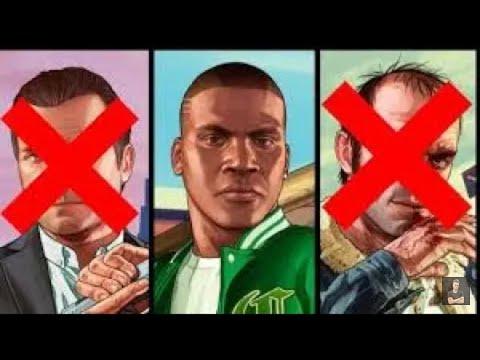 GTA 5 Franklin Kills Trevor And Michael