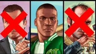 GTA 5 Franklin Kills Trevor And Michael