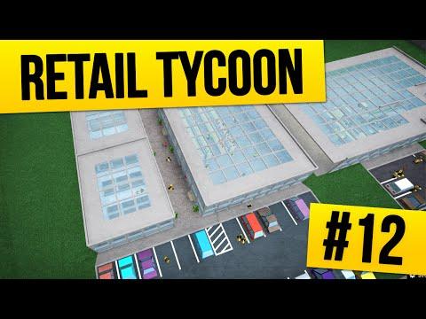Retail Tycoon #12 - HUGE MEGA MALL (Roblox Retail Tycoon)
