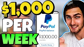 $1000.00 Earned In ONE Week - PROOF! (Make Money Online)