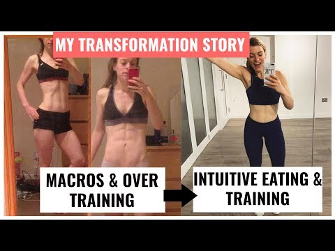 MY FITNESS JOURNEY FROM CALORIE COUNTING TO INTUITIVE EATING