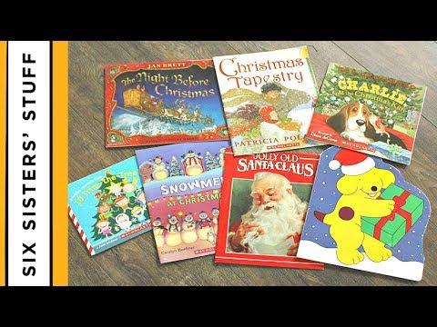 CHRISTMAS TRADITION – How to do a Book Advent Calendar for CHEAP!