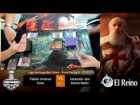 Final Fecha 4 Liga Armagedon 2015 de Mitos y Leyendas p. 2 (Ragnarok)