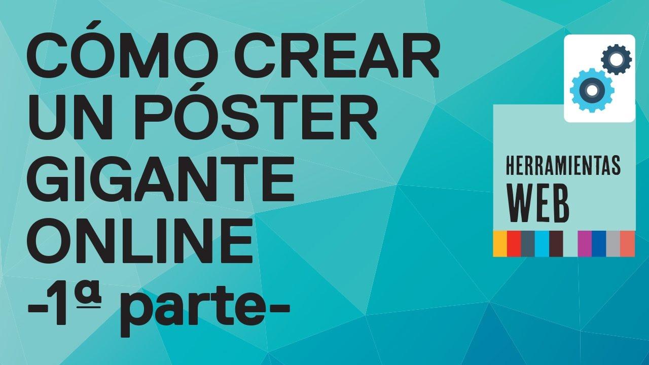 Como hacer un poster