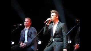 BSB Cruise 2016 - Acoustic Concert - I Got You - Nick Solo & cries (Vid 6 of 16)