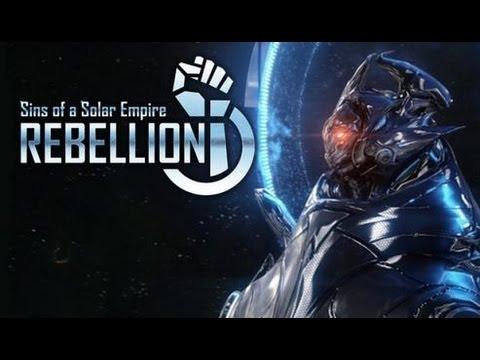 Sins of a Solar Empire: Rebellion – RTS de guerra espacial!!! (Gameplay / PC / PTBR)