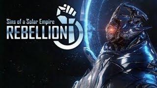 Sins of a Solar Empire: Rebellion - RTS de guerra espacial!!! (Gameplay / PC / PTBR)