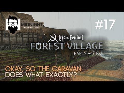 LiF: Forest Village Gameplay - BUILDING THE CARAVAN! - PART 17 - Lets Play LiF: Forest Village