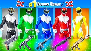 POWER RANGERS ALÉATOIRE CHALLENGE ! Défi FORTNITE Battle Royale