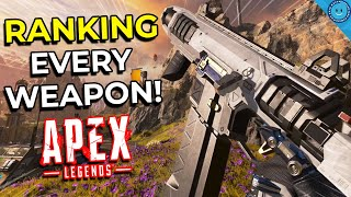 Ranking and Explaining Every Weapon from WORST to BEST In Apex Legends Season 5!