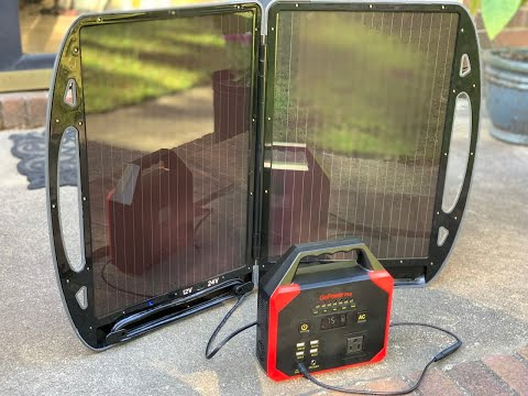 $100 Complete SOLAR POWER setup! Complete set!!! Panels and power bank! Invest in renewable energy!