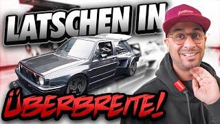 JP Performance - Latschen in Überbreite! | VW Golf 2 Thunderbunny | Neue Felgen