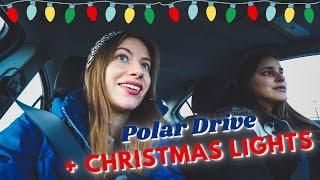 Download CHRISTMAS LIGHTS ✨ + POLAR DRIVE at Toronto Pearson Airport 🎄   WINTER Holiday Season in CANADA 🇨🇦