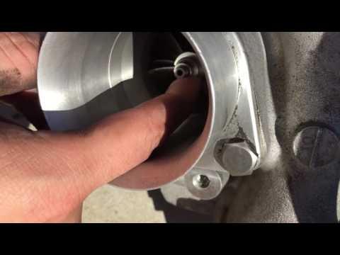 Garrett Ball bearing GT28 turbo fins