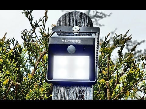 Cheap Outdoor Solar Powered Light Set Up | FULL TUTORIAL