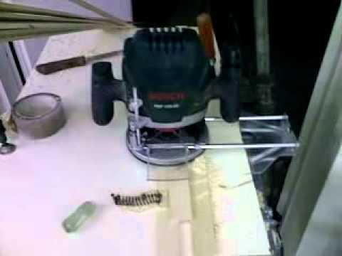 Endeavour 17 - Smøres med stearin for nemme fræsning