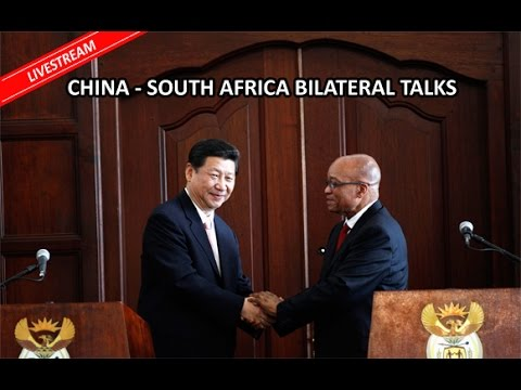 China-South Africa bileteral talks: President Zuma and Xi Jingping
