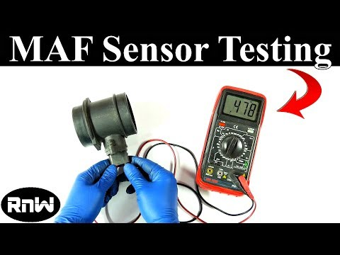 How to Test a M Air Flow MAF Sensor - Without a Wiring ...  Bmw Maf Sensor Wire Diagram on