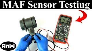 Het Testen van een luchtmassameter LMM Sensor - Zonder een elektrisch Schema