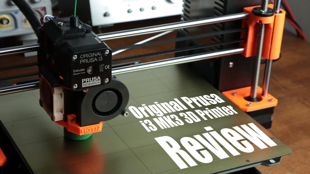 video Prusa Research Original Prusa i3 MK3S 3D Printer