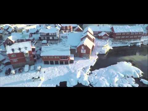 Stunning Tórshavn Seen From Above