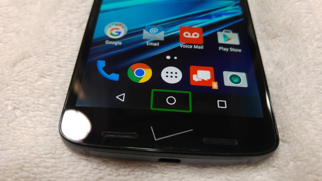 Motorola Droid TURBO 2 How to turn Off TalkBack feature under Accessibility  Options Moto X Force