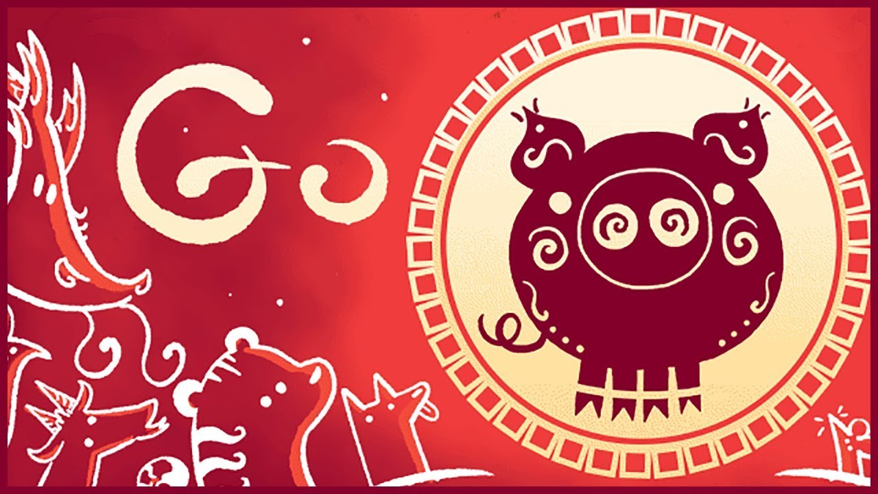 Lunar New Year 2019 Google Doodle
