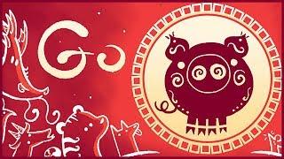 Lunar New Year 2019 Google Doodle