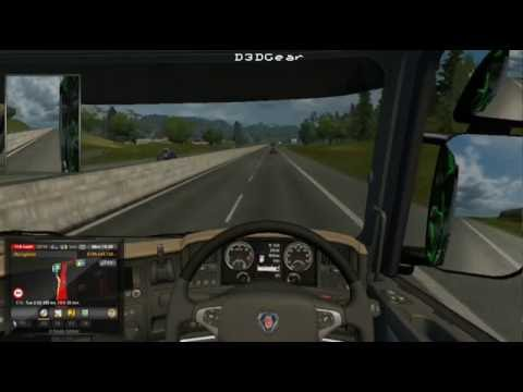 euro truck Simulator  2- new fast truck- hannover to graz EP1