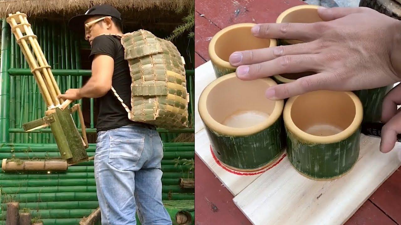 Diy Make Anything With Bamboo Craft