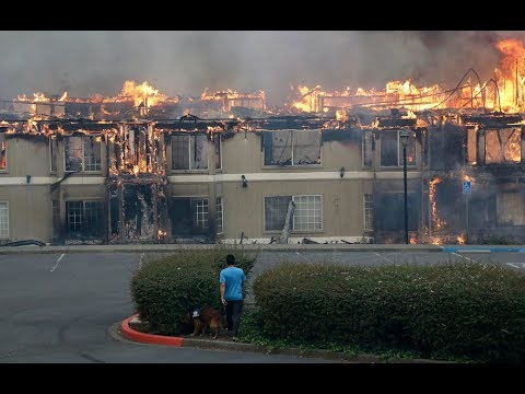 Santa Rosa fires, forest fires in California, wildfires ...
