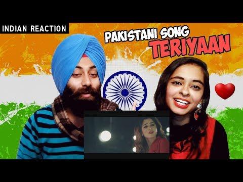 Indian Reaction on Teriyaan | Asim Azhar & Aima Baig | PunjabiReel TV