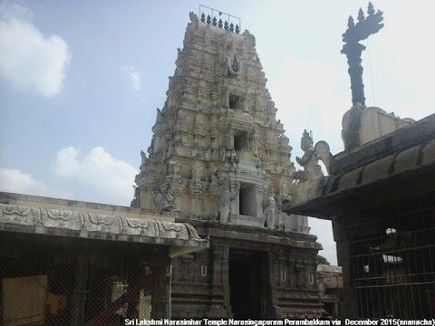 Sri Lakshmi Narasimhar Temple Narasingapuram Perambakkam (December 2015)