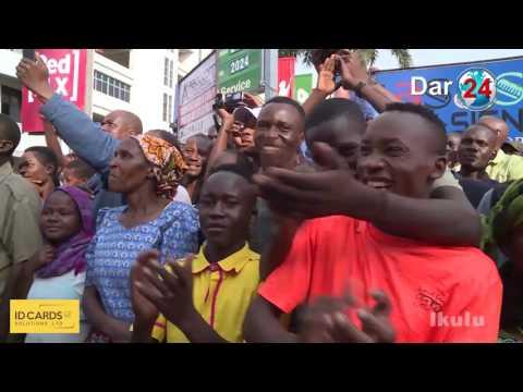 Ras Dkt. Magufuli alivyotua kwa kishindo Mwanza