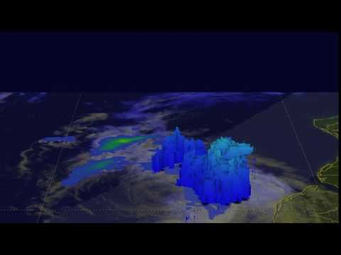A 3-D Look at Post-Tropical Cyclone Hermine