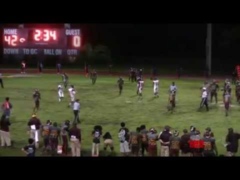 LIVE HIGH SCHOOL FOOTBALL BROADCAST & LIVE STREAM - HALLANDALE CHARGERS VS STRANAHAN DRAGONS