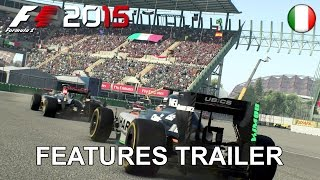 F1 2015 - PS4/XB1/PC - Features Trailer (Italian)