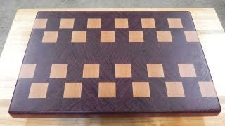 #2 An End Grain Cutting Board