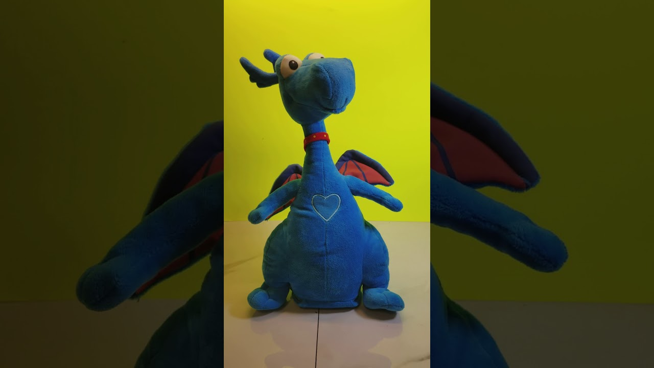 Doc Mcstuffins Stuffy Blue Dragon Talking 14 Plush Doll Disney Just Play