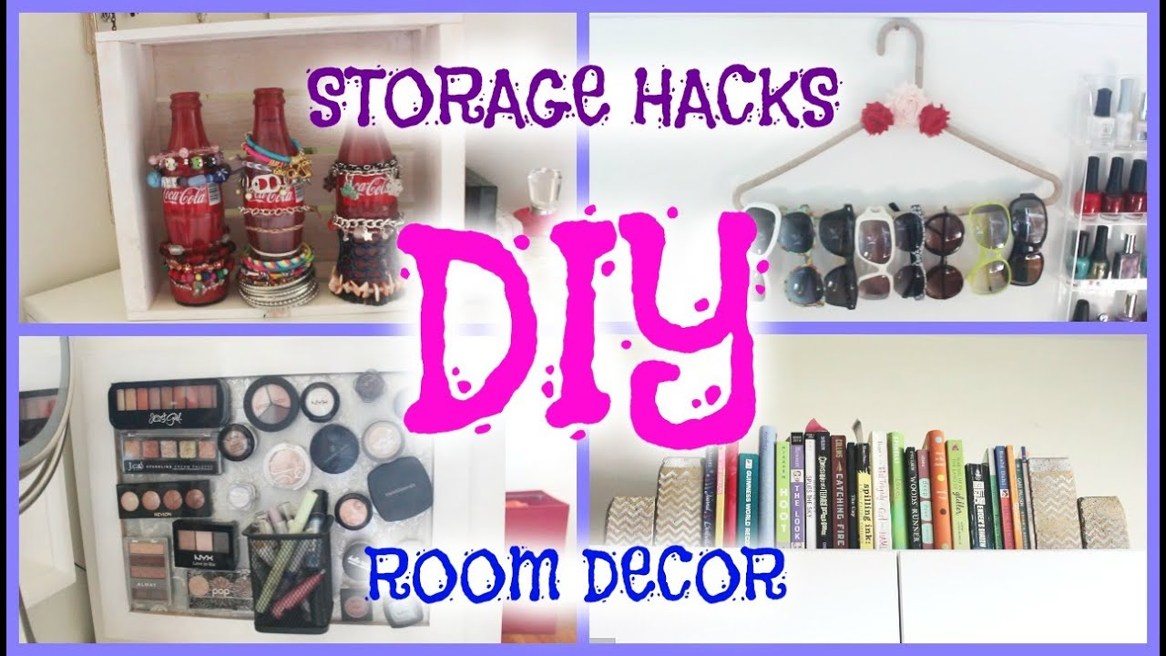 Diy Room Decor Storage Hacks Howtobyjordan Youtube